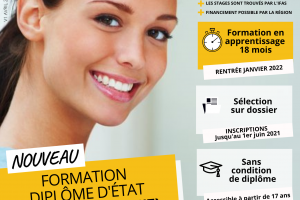 Affiche DE AS – Avril 2021 – QR code